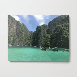 Phi Phi Islands Metal Print