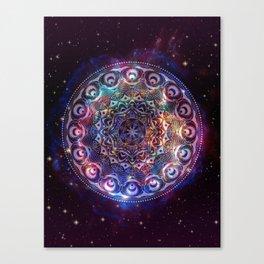Universe Gate - Mandala Canvas Print