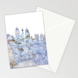 Cincinnati Ohio Skyline Stationery Cards