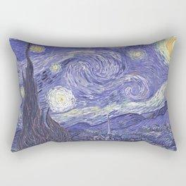 Vincent Van Gogh The Starry Night 1889 Rectangular Pillow