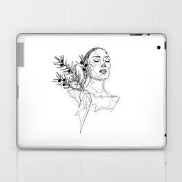 Olive (Black) Laptop & iPad Skin