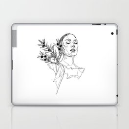 Olive (Black) Laptop & iPad Skin