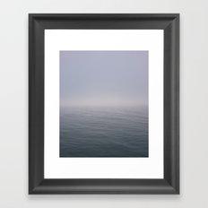 Sea Fret Framed Art Print