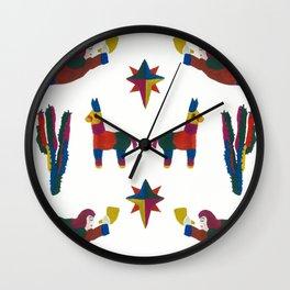 Mexican Festivus! Wall Clock
