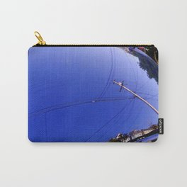 The Fish-Eye Sky, Grounded  Carry-All Pouch