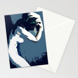 Pop Art Akt Stationery Cards