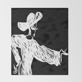 Grace and Manners Logo Throw Blanket