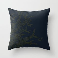 The Naked Tree Throw Pillow