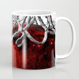 Basketball and net vs 5 Coffee Mug