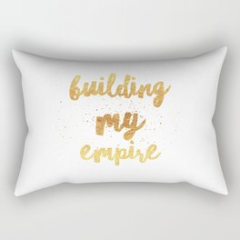 Building my Empire Rectangular Pillow