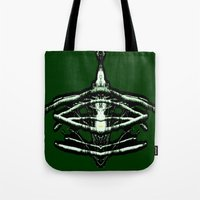 beast Tote Bags featuring BEAST by lucborell