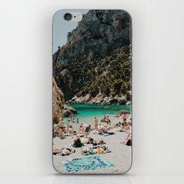 Sunbathers, Capri iPhone Skin