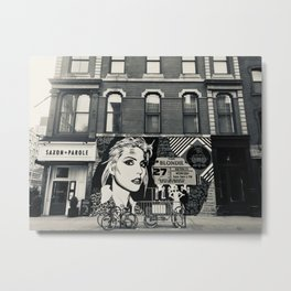 Blondie Metal Print