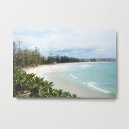 Manly Beach, Australia Metal Print