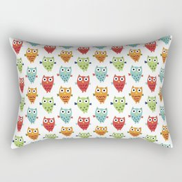 Owl Fun Rectangular Pillow