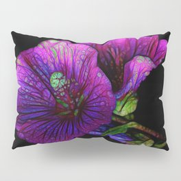 Gothic flowers | Purple flowers | Witches flowers | Herbs | Fairy | Fea Pillow Sham