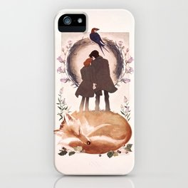 Fable of Mulder and Scully iPhone Case