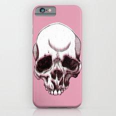 Skull in pink  iPhone 6s Slim Case