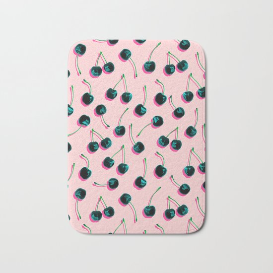 Pop Cherries Bath Mat