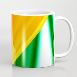 Strelitzia reginae (Green version) Coffee Mug