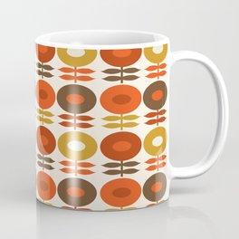 Primo - 70s style retro florals minimal 1970s trend flower Coffee Mug