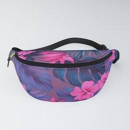 Tropical flowers 5 Fanny Pack