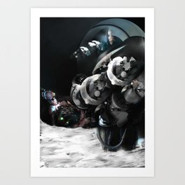 In the voiceless Night Art Print