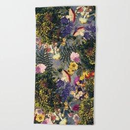 Tropical Garden XIII Beach Towel