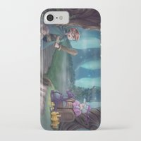 adventure is out there iPhone & iPod Cases featuring Adventure by aokstudios