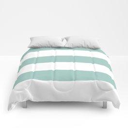 Maine Ocean Cabana Stripes Comforters