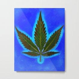Hemp Lumen #1 marijuana, cannabis Metal Print