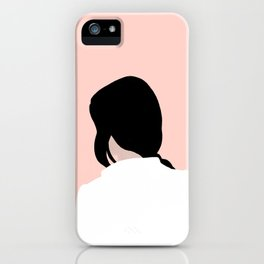 turn around, dezi iPhone Case