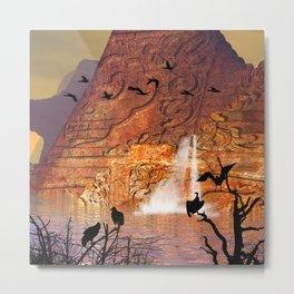 fantasy landscape  Metal Print