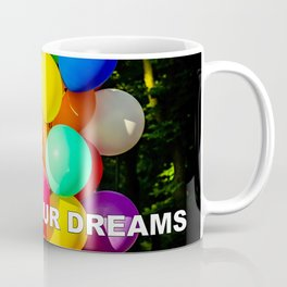 Colorful Toy Balloons Coffee Mug