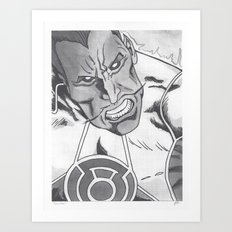Sinestro Art Print