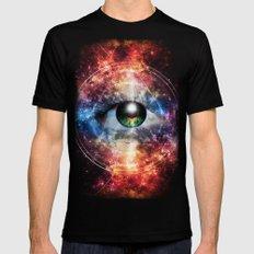 Quantum space Mens Fitted Tee MEDIUM Black