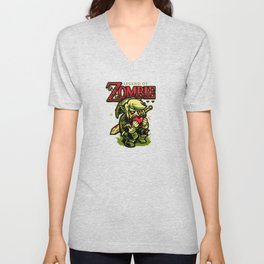 Legend of Zombie Unisex V-Neck