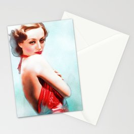 Joan Crawford, Actress Stationery Cards