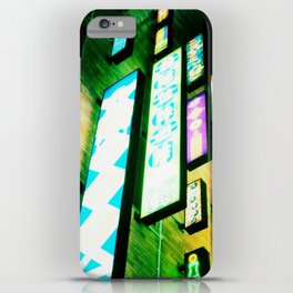 Neon Glow iPhone Case
