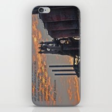 All architecture is shelter....... Philip Johnson Quote iPhone & iPod Skin