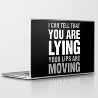 sarcasm Laptop & iPad Skins featuring Sarcasm Quote by JasmineLeflore
