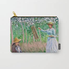 Claude Monet - In The Woods Carry-All Pouch