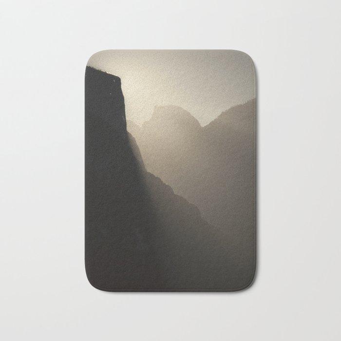 Yosemite Valley Moonlight Bath Mat