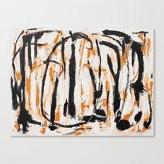 Commas Canvas Print