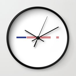 Hilary for President 2016 Political T-Shirt Wall Clock