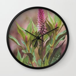 Floral 22 #flower Wall Clock