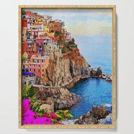 Italy, Cinque Terre Serving Tray