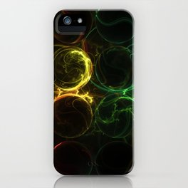 I've Lost My Marbles (AKA, The Evolution of Color) iPhone Case