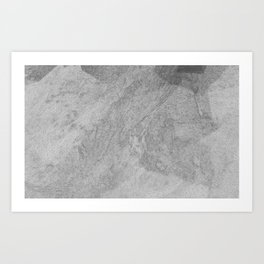 Digital Topo #1 Art Print