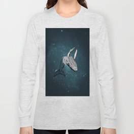 the universe wall Long Sleeve T-shirt